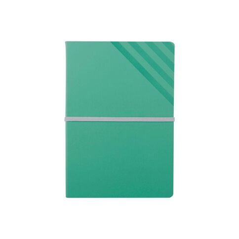 Paper Lane Journal PU Exposed Turquoise A5