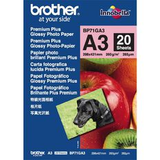 Brother Photo Paper Glossy BP71Ga3 260gsm A3