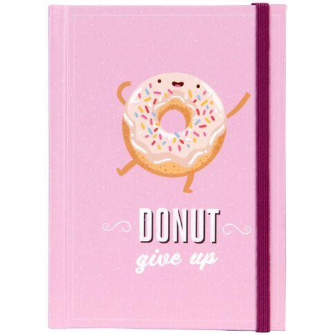 Banter Donut Hardcover Notebook A6