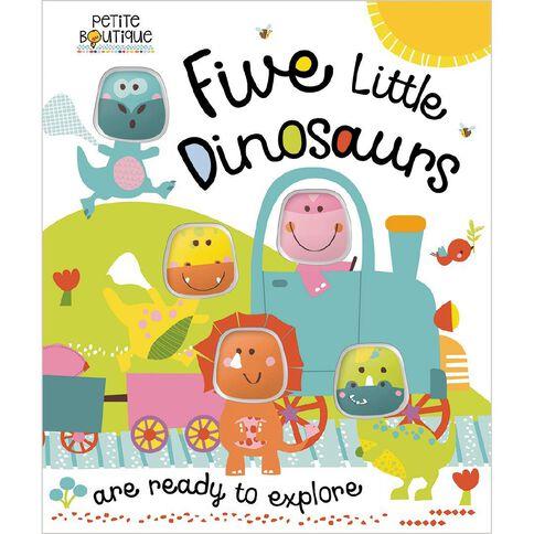 Petite Boutique Five Little Dinosaurs