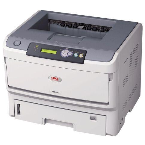 OKI B820N Mono Laser Printer A3 White