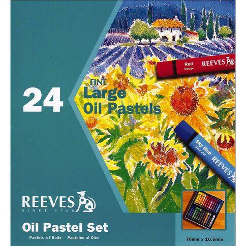 Reeves Oil Pastel Set 24