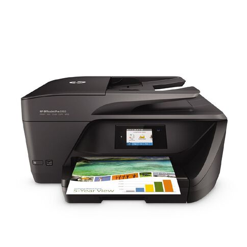 HP Officejet Pro 6960 All-in-One Printer Black