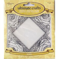 Ultimate Crafts Rambling Rose Embossing Folder Assorted