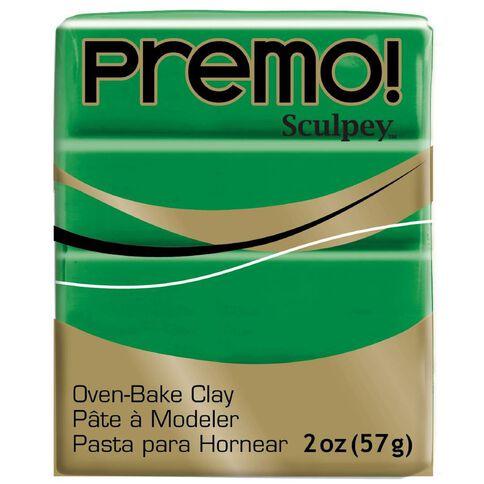 Sculpey Premo Accent Clay 57g Green