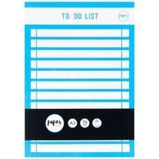 Paper Lane To Do List Blue A5