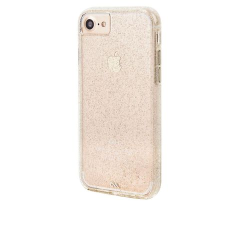 Casemate Iphone 7 Naked Tough Sheer Glam Case Champagne