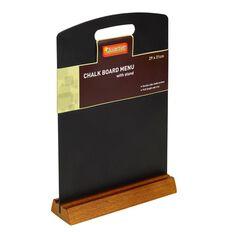 Quartet Menu Chalk Boards Black A4
