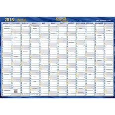 2018 A3 Laminated Planner 297 x 420mm