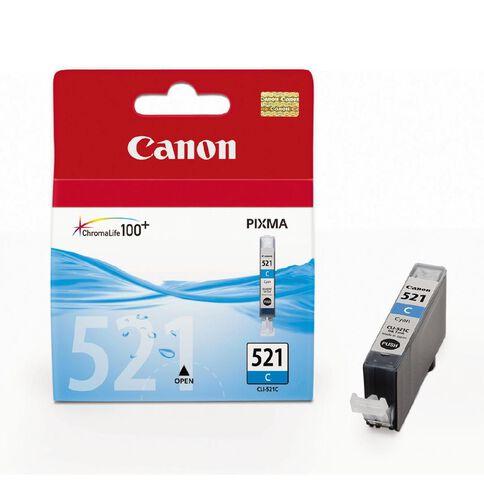 Canon Ink Cartridge CLI521 Cyan