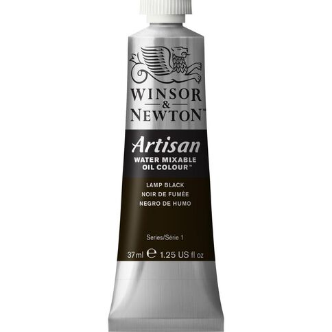 Winsor & Newton Artisan 37ml 337 Lamp Black