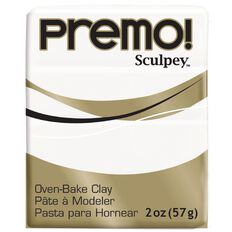 Sculpey Premo Accent Clay 57g White