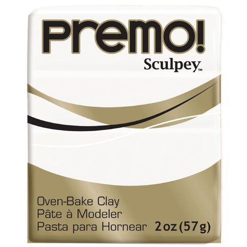 Sculpey Premo Accent Clay 57g White