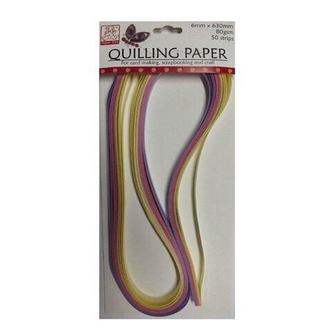 Sullivans Quilling Paper 6Mm Pink
