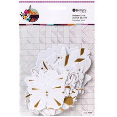 Rosie's Studio Here & Now Watercolour Paper Diecuts 44 Piece