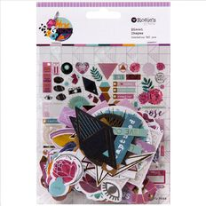 Rosie's Studio Here & Now Cardstock Diecuts 180 Piece