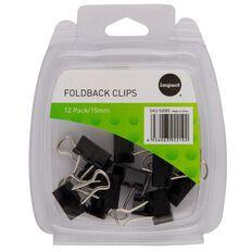 Impact Foldback Clips 15mm 12 Pack