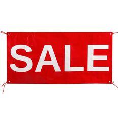 Quikstik Sale Exterior Pvc Banner Red