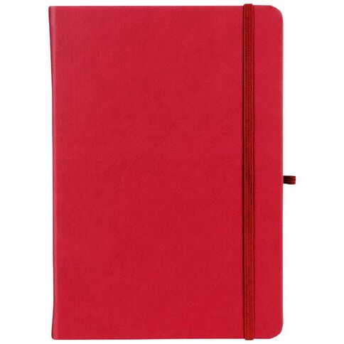 Paper Lane Journal PU Red A4