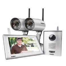 Uniden Uwg900 Wireless Vid/Intercom/Surveilance Silver