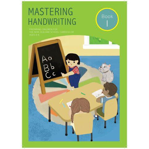Mastering Handwriting Book 1