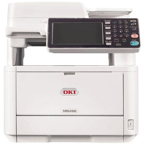 OKI Mb492Dn Mono Laser Multifunction White