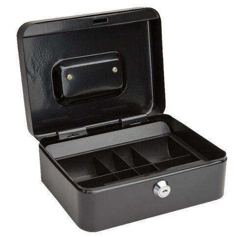 Cash Box 8 inch Black
