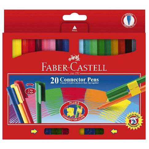 Faber-Castell Connector Pens 20 Pack