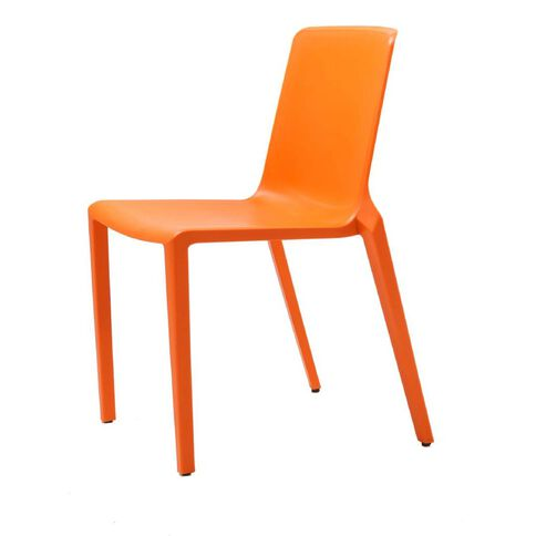 Meg Stacker Chair Orange