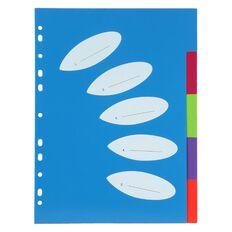 ColourHide PP Organiza Dividers 5 Tab A4