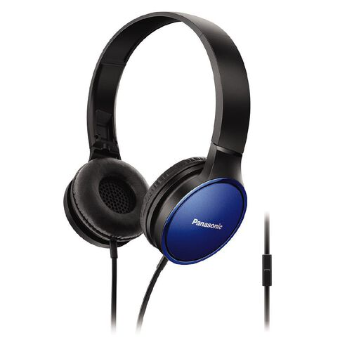 Panasonic Stereo Headphones Rp-Hf300M Blue