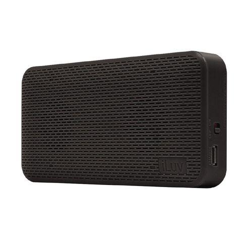 iLuv Iluv Ultra Slim Wireless Bluetooth Speaker Black