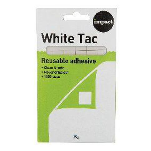 Impact Tac 75g White