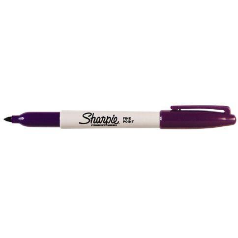 Sharpie Marker Fine Purple