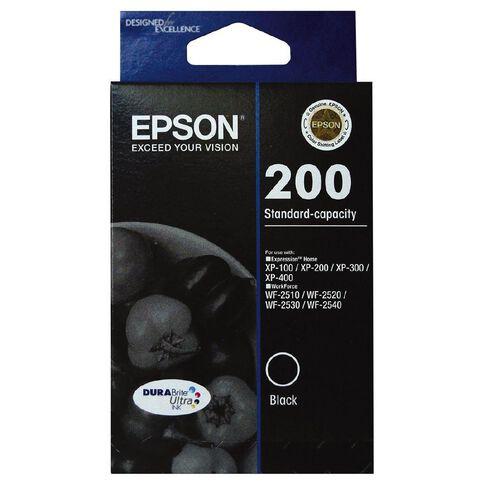 Epson Ink Cartridge 200 Ultra Black
