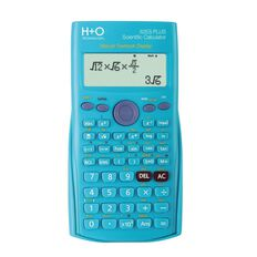 H+O Technology Scientific Calculator 82Es Plus Blue Blue