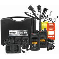 Uniden Uh820S-2Tp Twin Tradies Pack Radio Black