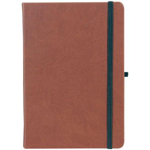 Paper Lane Journal PU Tan A4