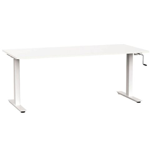 Agile Height Adjustable 1800 Desk White