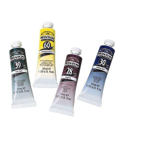 Winton Oil Paint 37ml Lemon Yellow
