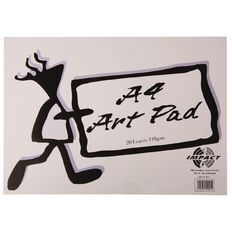 Impact Artist Pad A4 110Gsm 20 Leaf