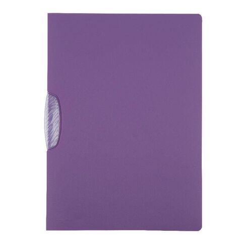Durable Swingclip File 30 Sheet Purple
