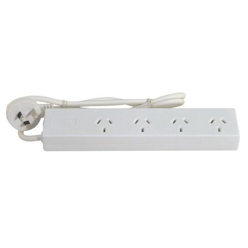 Goldair Powerboard 4 Outlet White