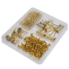 Uniti Gold Desk Accessories Set Gold