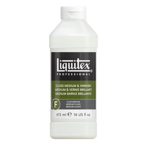 Liquitex Gloss Fluid Medium & Varnish 473ml