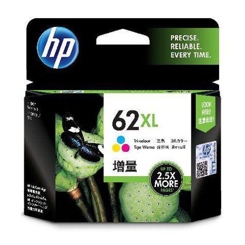 HP Ink Cartridge 62XL Multi-Coloured