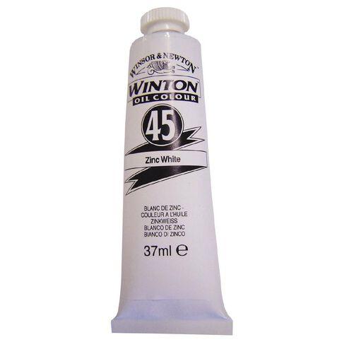 Winton Oil Paint 37ml Zinc White