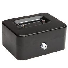 Cash Box 6 inch Black