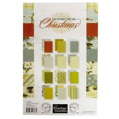 Couture Creations Let Everyday Be Christmas Paper Pad A4