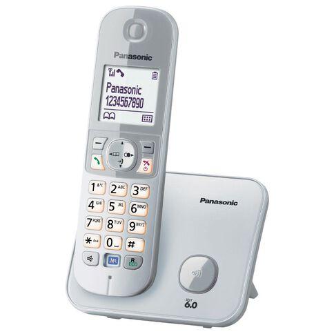 Panasonic Kx-Tg6811Nzs Cordless Phone Silver